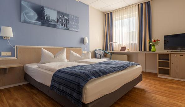 Zweibettzimmer Dresden