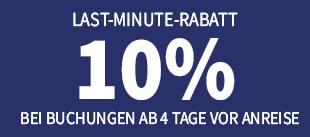 Last Minute Rabatt